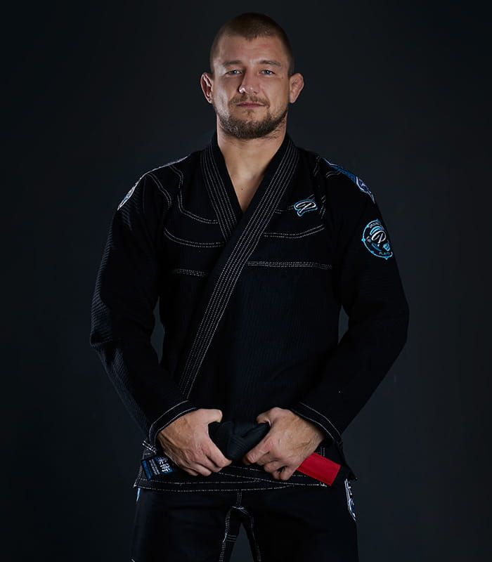 GI DO BJJ GROUND GAME - PLAYER - CZARNE