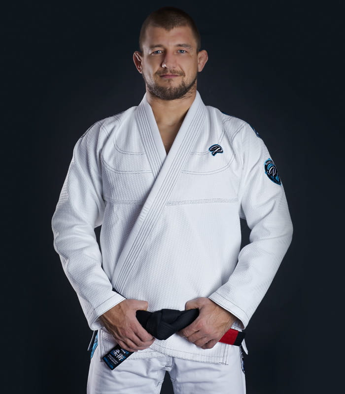 GI DO BJJ GROUND GAME - PLAYER - BIAŁE