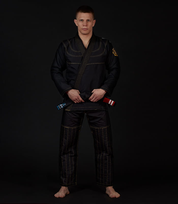 GI DO BJJ GROUND GAME - CHAMPION 2.0 - CZARNE