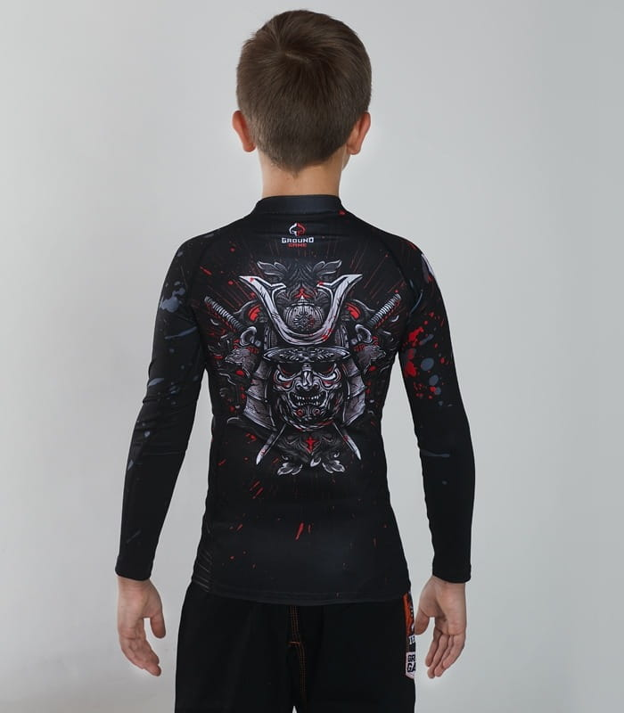 RASHGUARD GROUND GAME - SAMURAI MASK